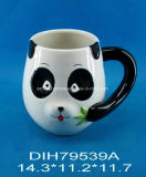 Caffè del panda/tazza di tè di ceramica dipinti a mano