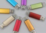 Métal OTG 64 Go de mémoire flash USB Pen Drive Se connecter à Mobile