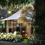 De grote Tent van de Functie van de Luxe Openlucht voor Huwelijk die met de Voeringen en de Gordijnen van het Dak verfraaien