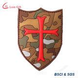 Fabrik-kundenspezifische Militärgummiabzeichen Belüftung-Änderung am Objektprogramm