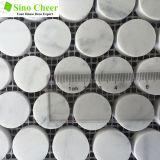 Мозаика Carrara каменной плитки строительного материала белая мраморный