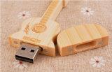 顧客への昇進のギフトとして新しい方法ギターの形USBのフラッシュ駆動機構の棒木のPendrives