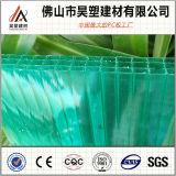 Van China van de viervoudig-Muur van het Polycarbonaat Hol van het Blad PC- Blad voor de Loods van het Fokken van Greenhouseand van de Landbouw