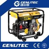 Generatore elettrico del diesel di inizio 6kw del singolo cilindro raffreddato aria