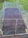 닭장 또는 직류 전기를 통한 6각형 철사 그물세공