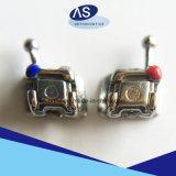 Auto ortodontico del metallo che lega le parentesi con 345hooks ortodontico in Cina