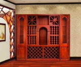 Armoires en bois de teck en bois pour maison (GSP19-005)