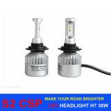自動車照明S2 Csp H7 LED自動ヘッドライトH4 H11 H16 H1 H3 9005 9006 H13