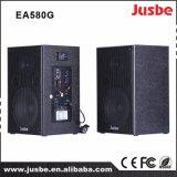60 ватт деревянного диктора 2.0 с соединением микрофона bluetooth 2.4G