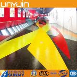 Suelo coloreado brillante del PVC de la venta directa de la fábrica
