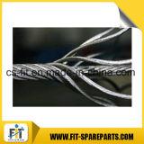 Corda del filo di acciaio per le parti della gru a torre di Zoomlion