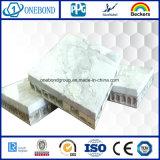 El panel del panal de la piedra decorativa para el material de construcción
