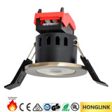 Diodo emissor de luz Rated Downlight do incêndio de RoHS 6W Dimmable do Ce com conetor rápido