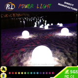 빛을내는 정원 장식적인 큰 LED 라운드 볼