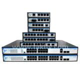 120W 8ポートギガビットPoeのファイバーのネットワークスイッチPoe