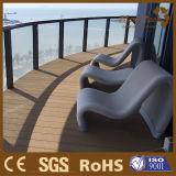 Painéis de decadência compacta Revestimento de piso ao ar livre impermeável à varanda
