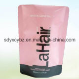 La talla modificada para requisitos particulares se levanta la bolsa con la cremallera del material de la categoría alimenticia