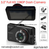 """Nuevo Full HD 1080p Alquiler de cámara con pantalla TFT de 3,0"""", G-Sensor, 5.0Mega Alquiler de cámara, 170 grados del ángulo de visión, visión nocturna, IR LED coche DVR-3031"""