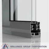 Fabbricazione di alluminio del portello di piegatura del blocco per grafici a Schang-Hai