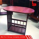 Tavolino da salotto girante rotondo, tavolino da salotto unico di Eextendable
