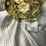 100 % Poly Newest typique de fils teints spécial le linge de maison à la recherche Rideau JACQUARD Tissu