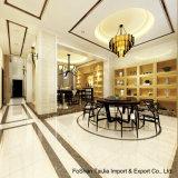 600x600mm Material de construcción blanco marfil sal soluble Baldosa porcelana pulida (TJ6000)