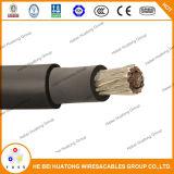 O cabo solar, fio Photovoltaic, tipo picovolt cabografa o cabo solar de 600V 2000V TUV picovolt, cabo solar do UL picovolt