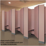 Couleur Blanc Matériau stratifié compact cabine de douche pour salle de gym