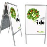 店のためにボードを広告するOutodoorの印刷の表示プラスチックPVCアクリルの印の広告