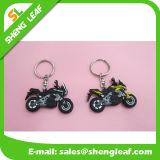 Ringen van de Sleutelring van Keychain Keychains van de Ketting van de motorfiets de Rubber Zeer belangrijke