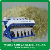 半ゆでにされた機械装置を処理する米カラーソート機械または玄米カラー選別機か米