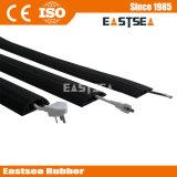 Ao Longo Piso Durable Rubber Extensão Interior Protector Cord