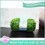 주문 다색 염색된 회전시키는 뜨개질을 하는 100% 아크릴 털실