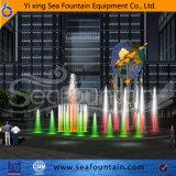 Fontana corrente esterna di musica dell'ugello di disegno speciale