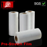 4 Rolls Clear Stretch Film Enveloppe en palette en plastique 18 Wide X 1500 FT. 80 Jauge
