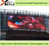 Visualización a todo color de la publicidad de pantalla del módulo de la INMERSIÓN P10 RGB LED