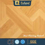 plancher insonorisant de Laminbate de noix de texture de la fibre de bois AC4 de 12.3mm