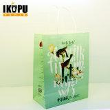 Bolsa de papel regalo barato para la alimentación y de compras con nuevo diseño