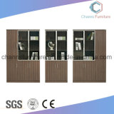Modern Melamine Furniture Office Bookcase Black File Cabinet