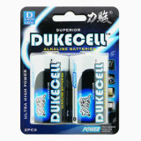 Heiße alkalische Batterie des Verkaufs-D-Am1 Lr20