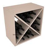 Cubo del vino del pino del compacto del estante del vino de la alta calidad
