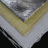 Haute température laminée en aluminium résistant à la chaleur de l'aramide tissu de fibre de Kevlar