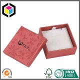 Modèle de luxe deux parties de bijou de carton de boîte-cadeau de papier