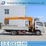 Gru montata camion idraulico della gomma del camion 6.3ton della costruzione della Cina