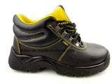 Горячие продавая ботинки безопасности PU кожаный для предохранения от безопасности