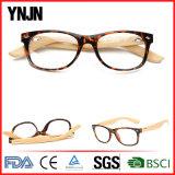 Vetri di lettura di bambù del blocco per grafici di plastica dei nuovi prodotti (YJ-1525)