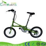 Mini vélo se pliant d'E avec la crémaillère arrière