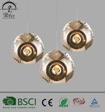 Indicatore luminoso del pendente del metallo della lampada Pendant dello schermo della sfera dell'acciaio inossidabile