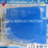 Folha do plexiglás para o tanque de peixes acrílico personalizado