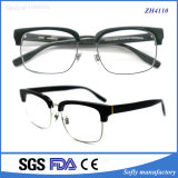 Soflying Best Selling Acétate Frame Mix Metal Temples Optical Glasses